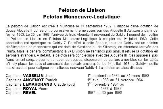 Peloton Manoeuvre-Logistique