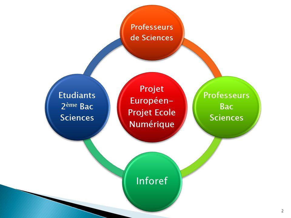Inforef Etudiants 2ème Bac Sciences Professeurs Bac Sciences