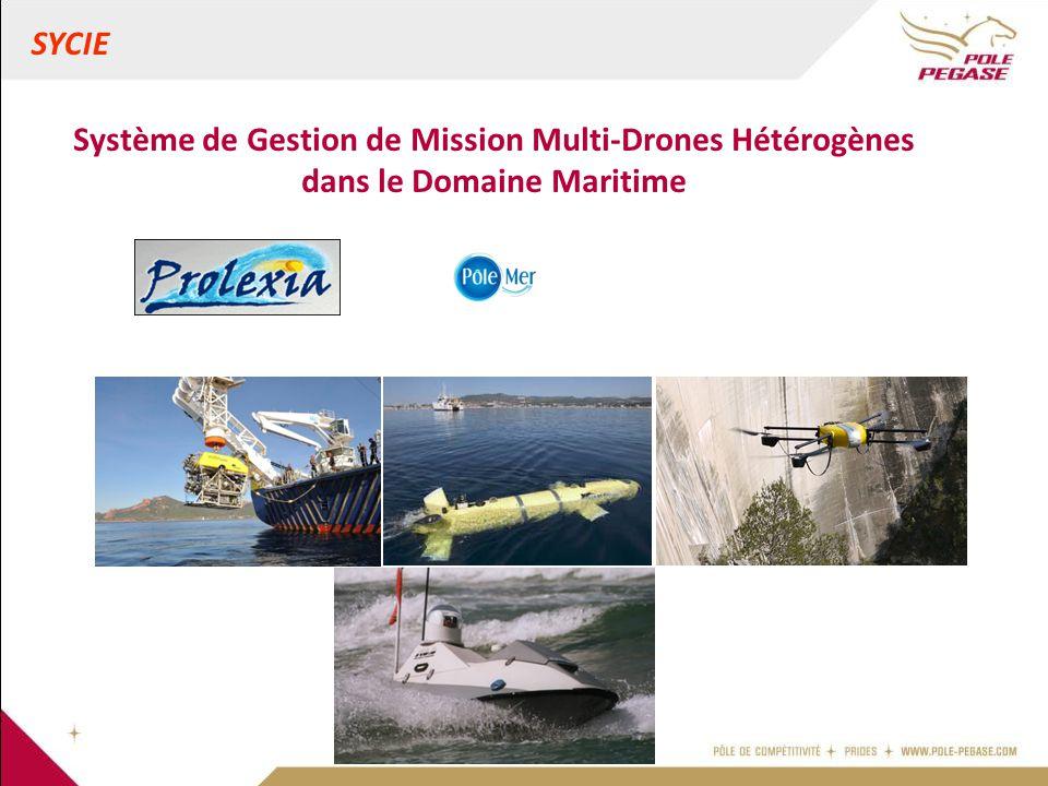SYCIE Système de Gestion de Mission Multi-Drones Hétérogènes dans le Domaine Maritime