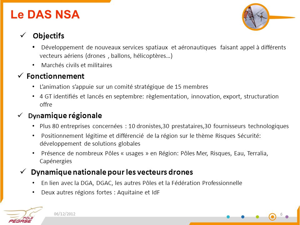 Le DAS NSA Objectifs Fonctionnement
