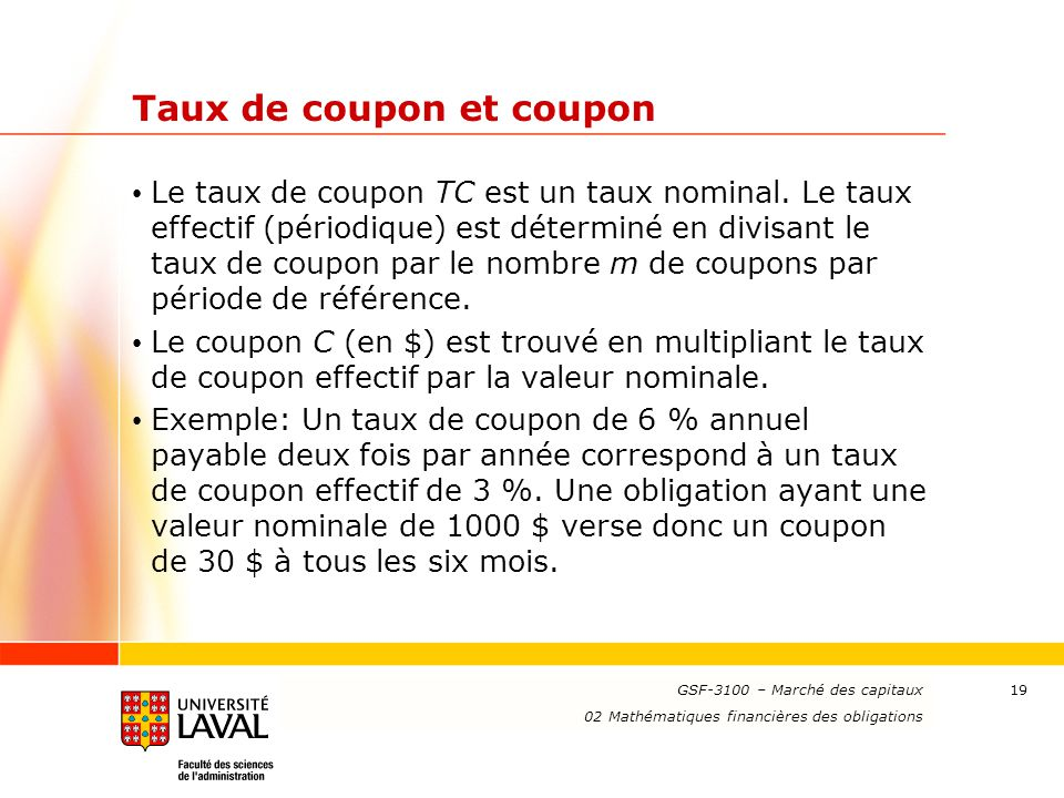 02 math matiques financi res des obligations ppt t l charger - Site payable en 3 fois ...