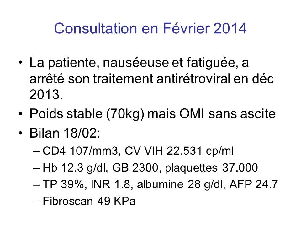Consultation en Février 2014