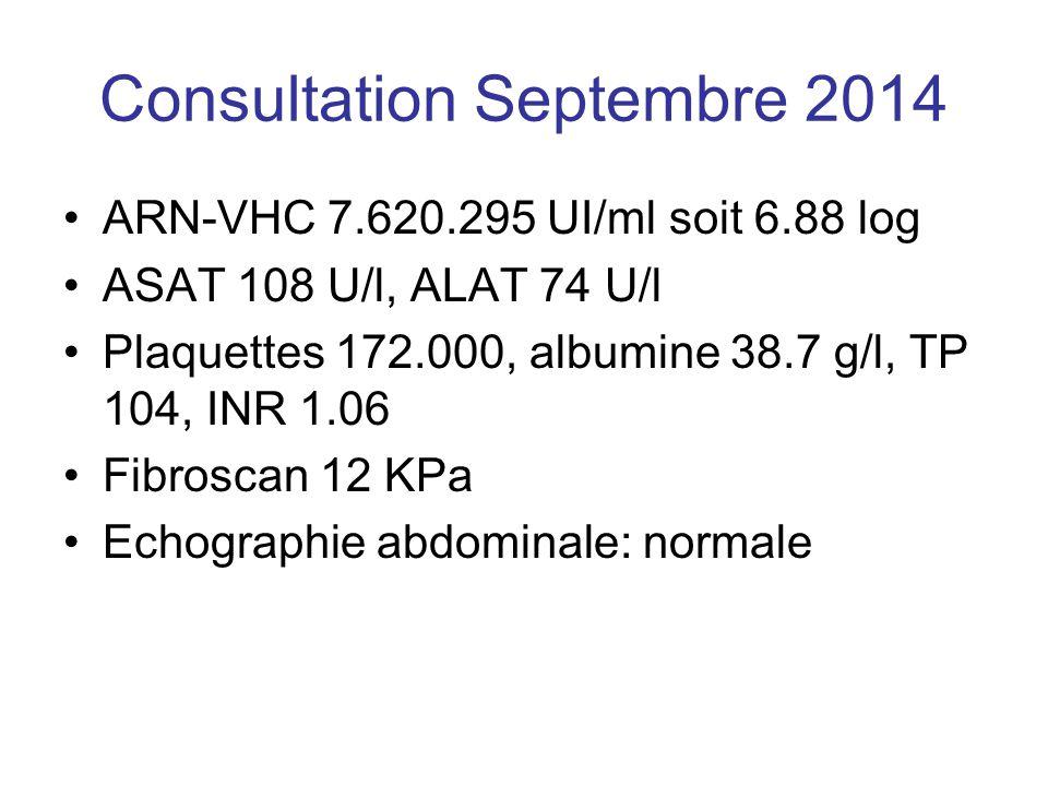 Consultation Septembre 2014