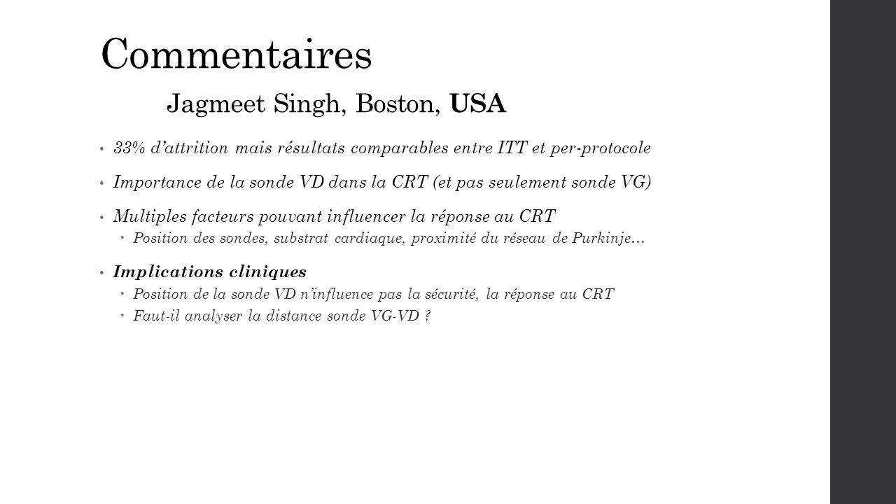 Commentaires Jagmeet Singh, Boston, USA