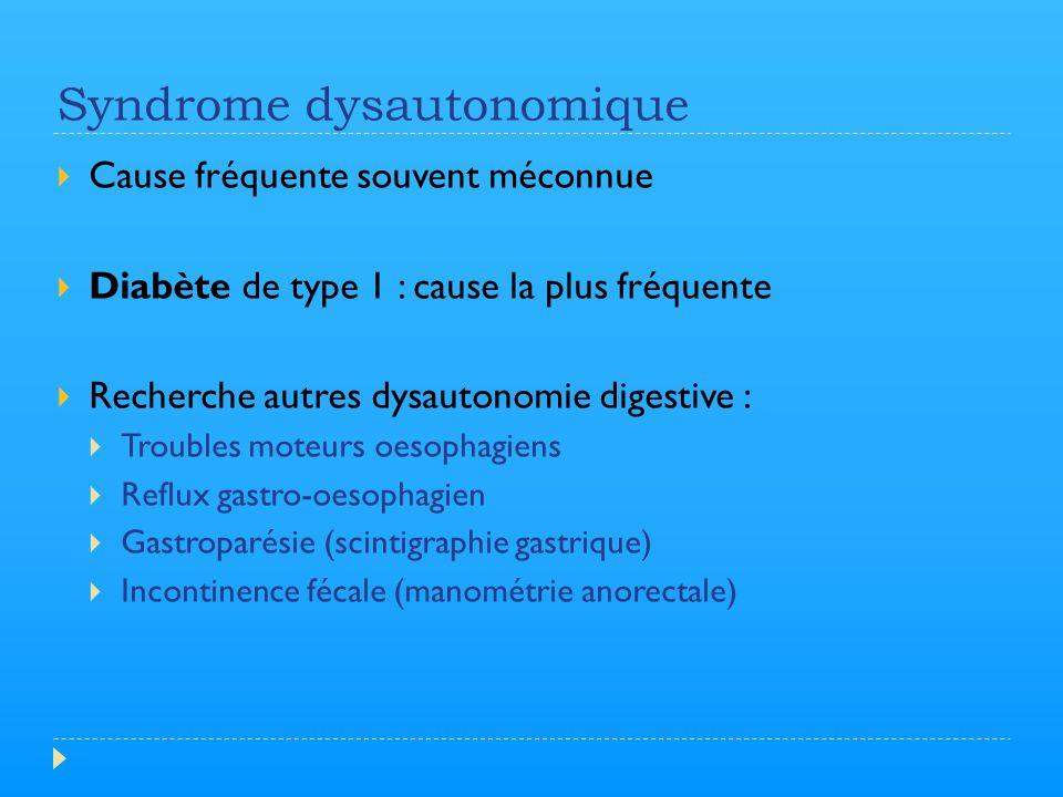Syndrome dysautonomique