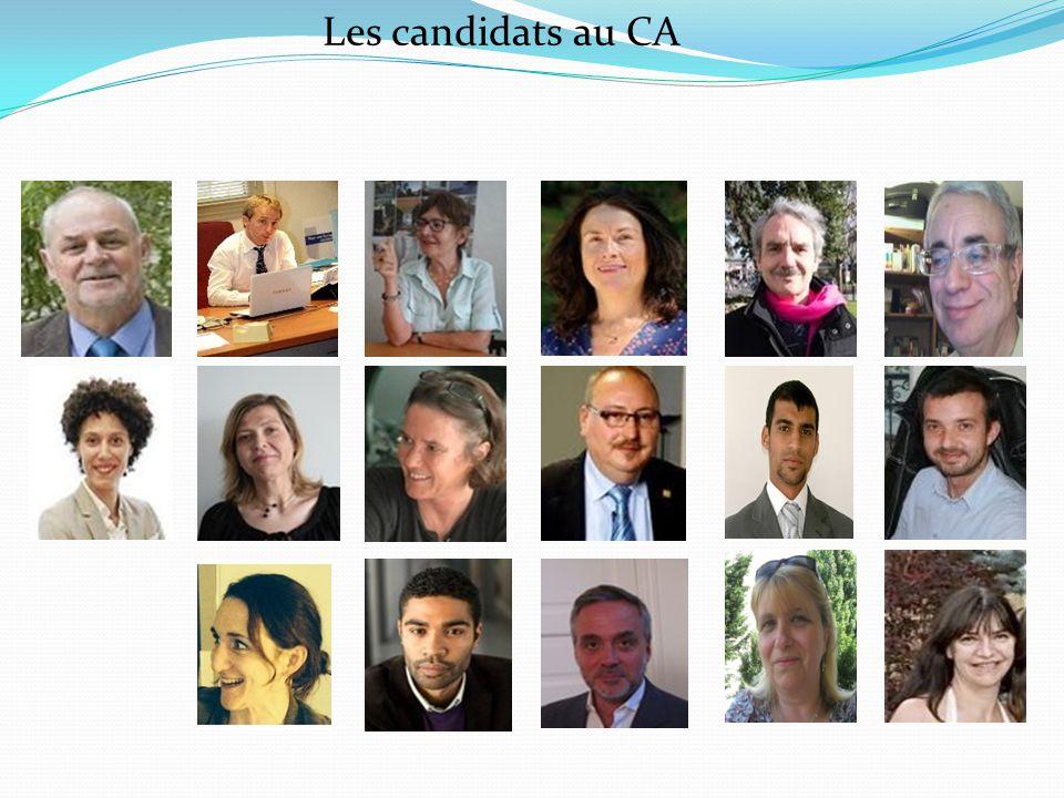Les candidats au CA Est qu'il y a des personnes qui votent contre