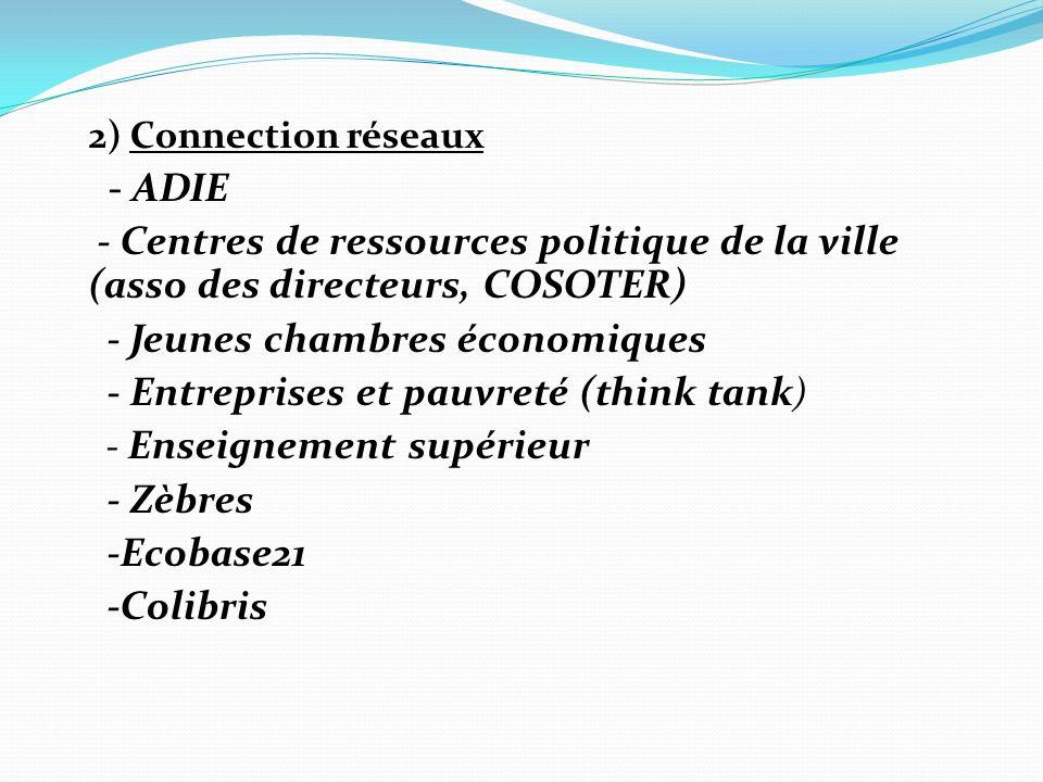- Jeunes chambres économiques - Entreprises et pauvreté (think tank)