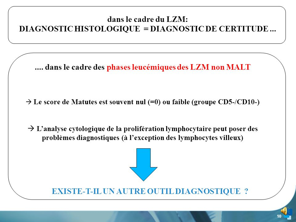 DIAGNOSTIC HISTOLOGIQUE = DIAGNOSTIC DE CERTITUDE ...