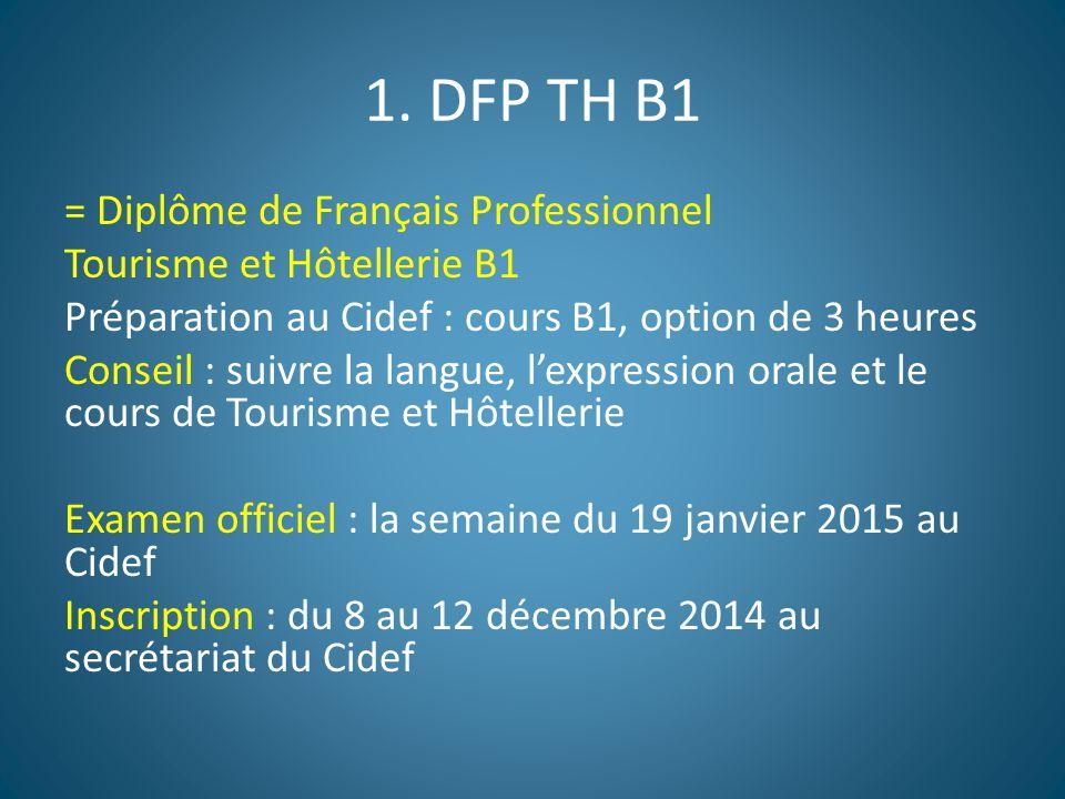 1. DFP TH B1