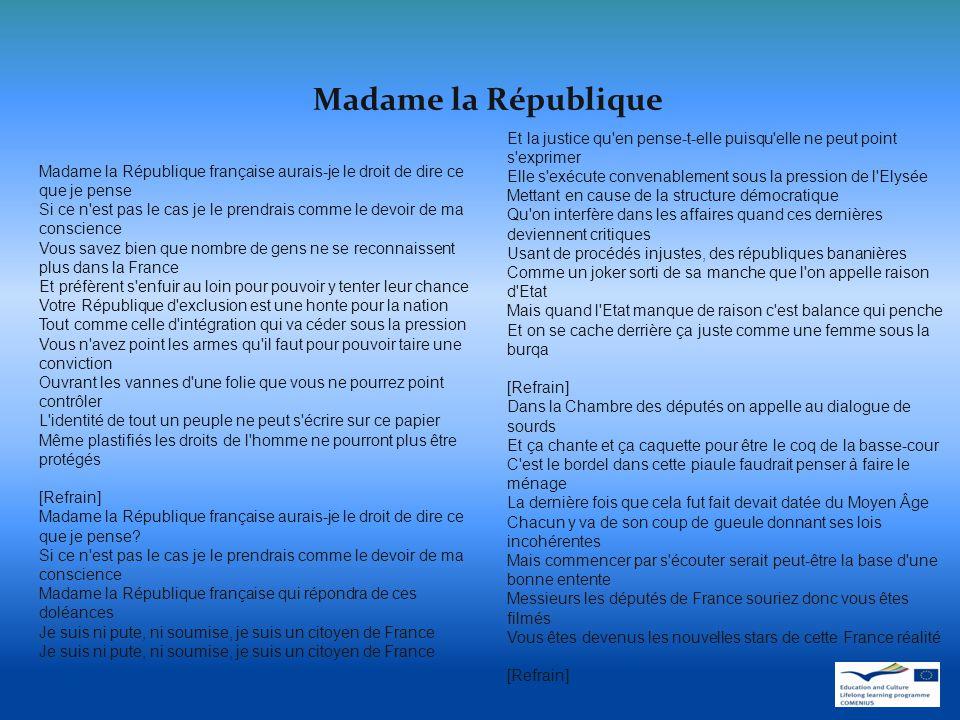 Madame la République