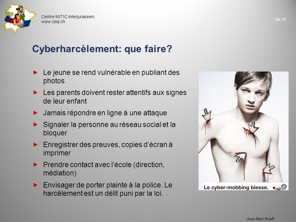 Cyberharcèlement: que faire