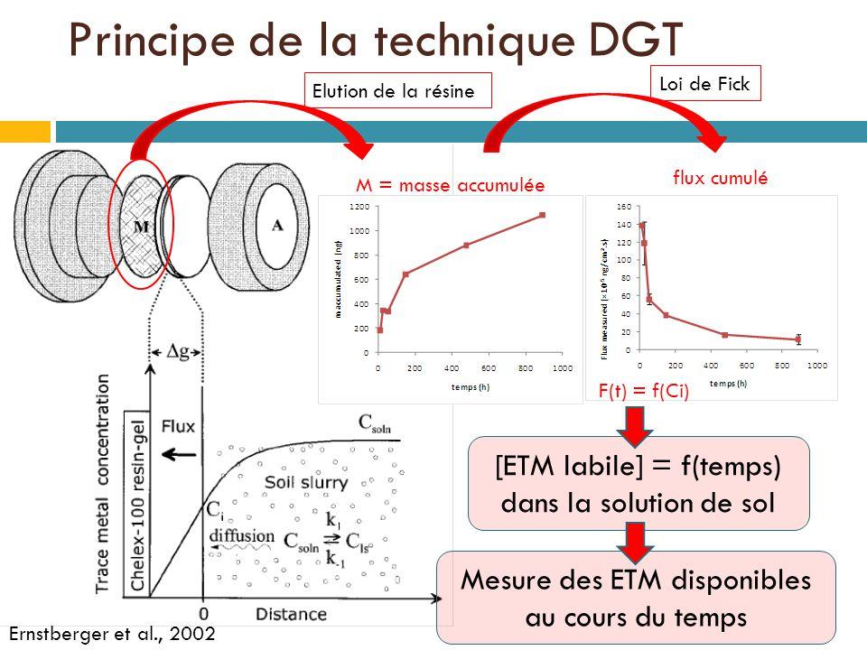 Principe de la technique DGT