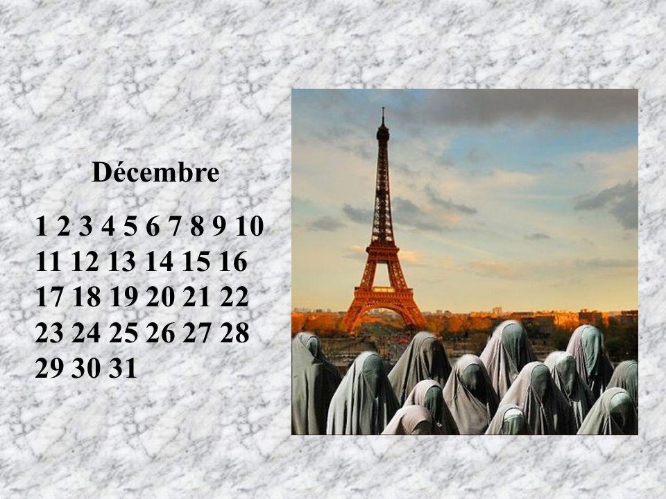 Décembre 1 2 3 4 5 6 7 8 9 10 11 12 13 14 15 16 17 18 19 20 21 22 23 24 25 26 27 28 29 30 31. RT.