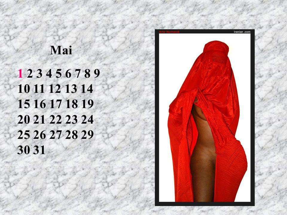 Mai 1 2 3 4 5 6 7 8 9 10 11 12 13 14 15 16 17 18 19 20 21 22 23 24 25 26 27 28 29 30 31 RT 6