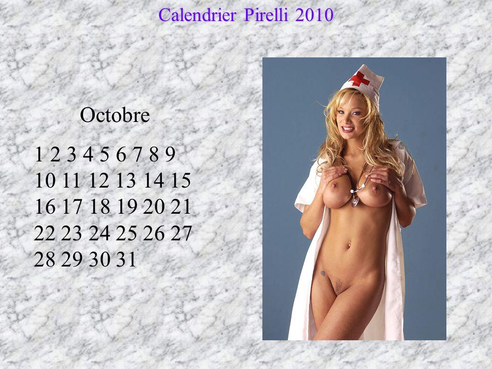 Calendrier Pirelli 2010 Octobre.