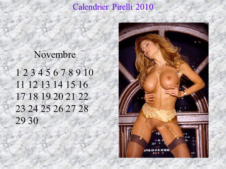 Calendrier Pirelli 2010 Novembre.