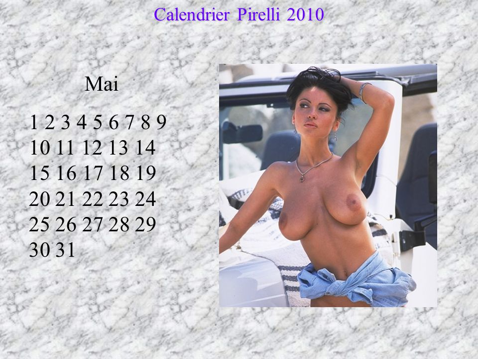 Calendrier Pirelli 2010 Mai.