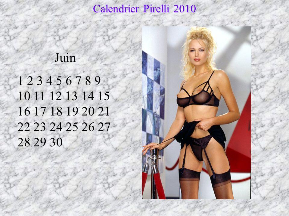Calendrier Pirelli 2010 Juin.