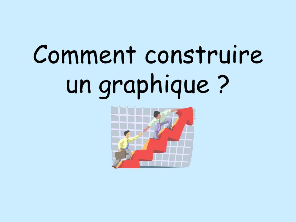 Comment construire un graphique ppt video online for Construire online