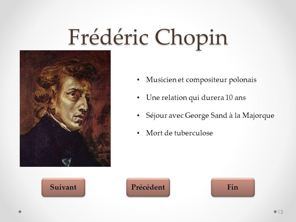 Frédéric Chopin Musicien et compositeur polonais
