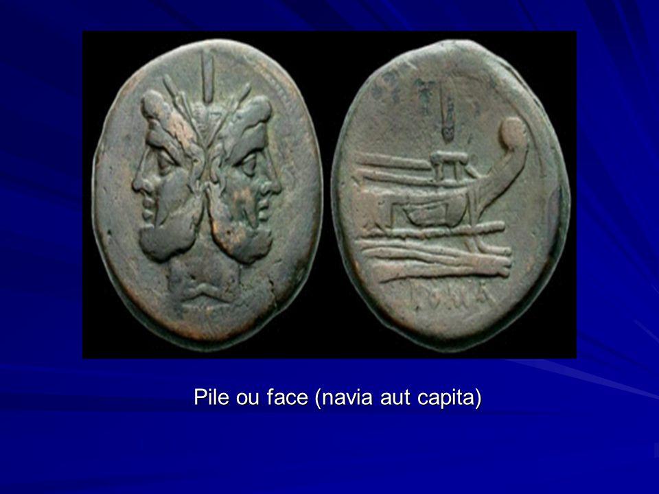 Pile ou face (navia aut capita)