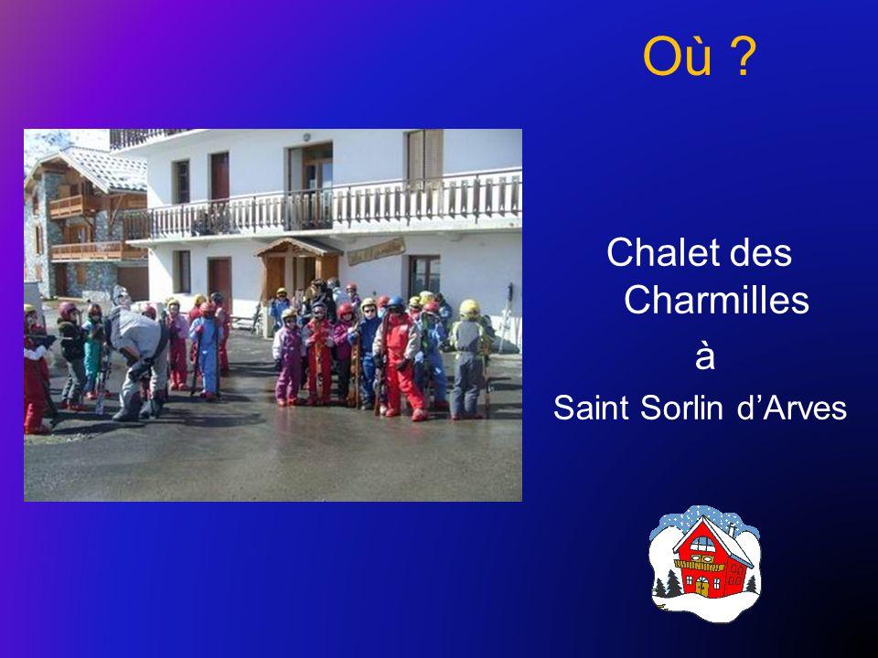 Où Chalet des Charmilles à Saint Sorlin d'Arves