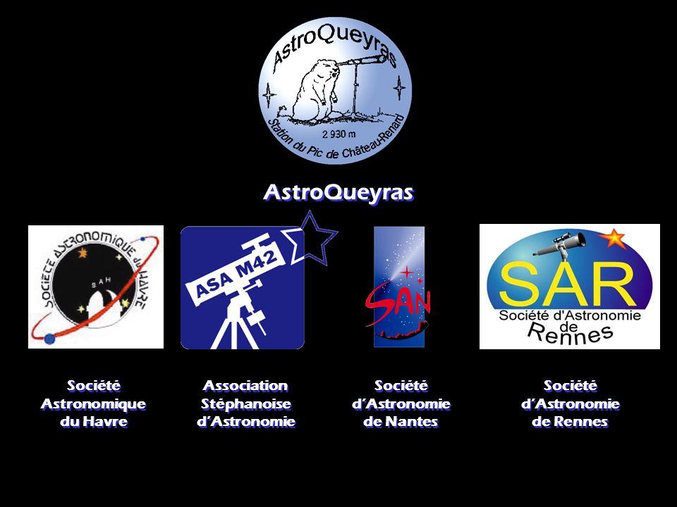 AstroQueyras Société Astronomique du Havre Association Stéphanoise