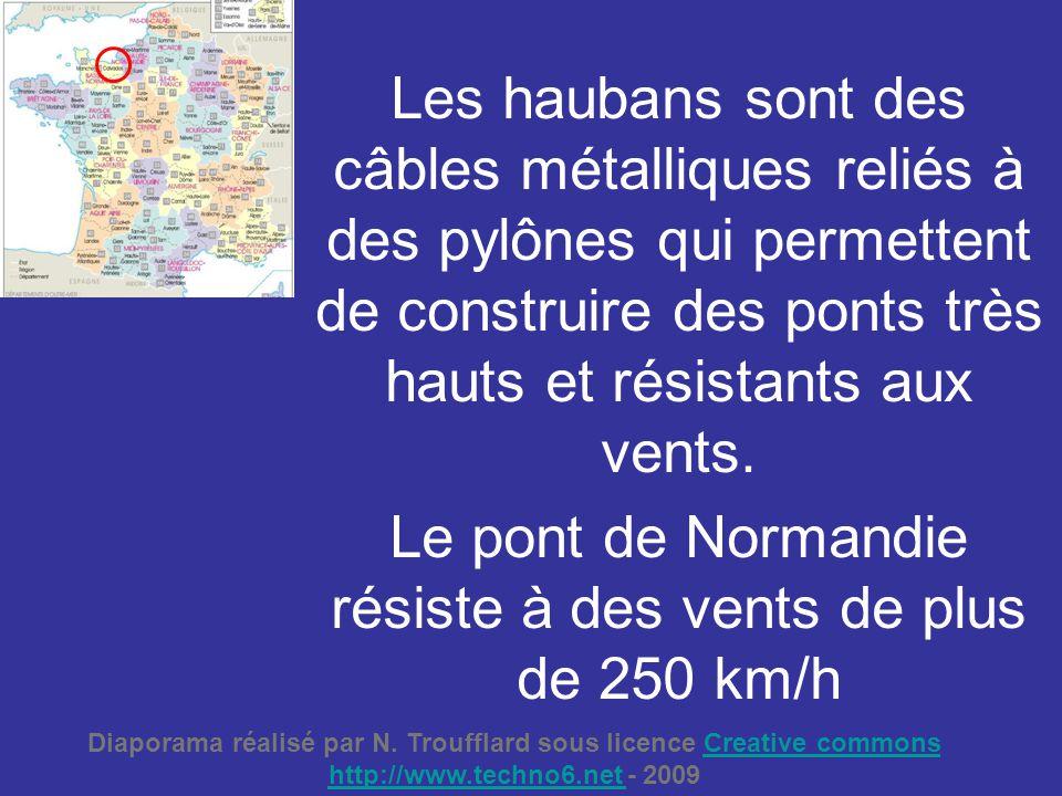 Le pont de Normandie résiste à des vents de plus de 250 km/h