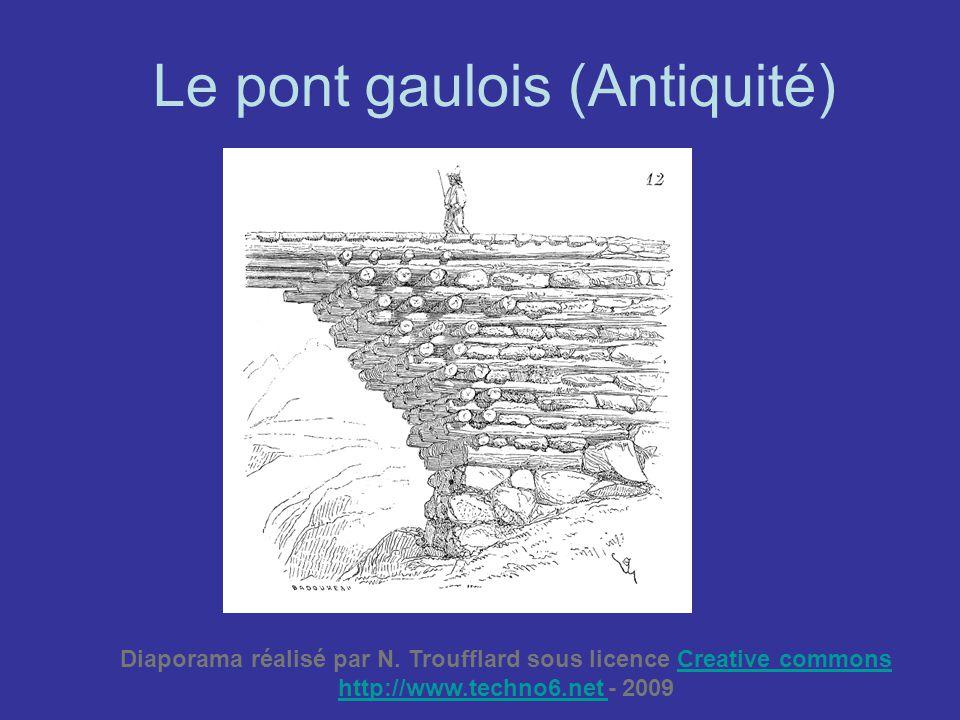 Le pont gaulois (Antiquité)