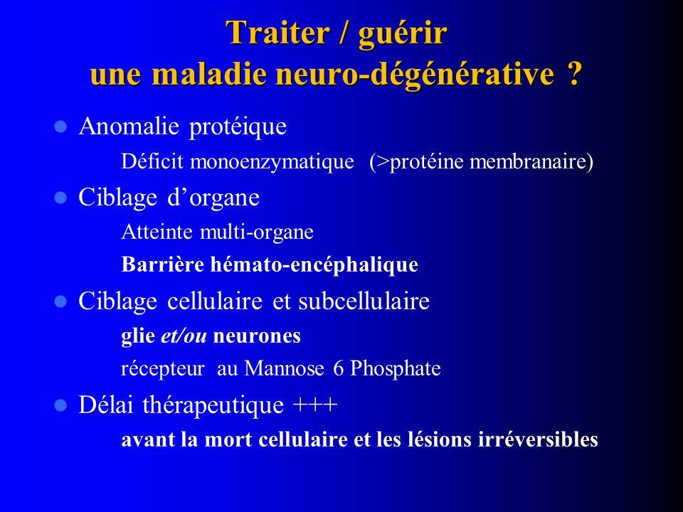Traiter / guérir une maladie neuro-dégénérative