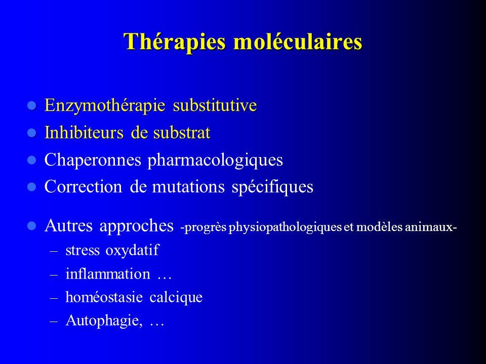 Thérapies moléculaires