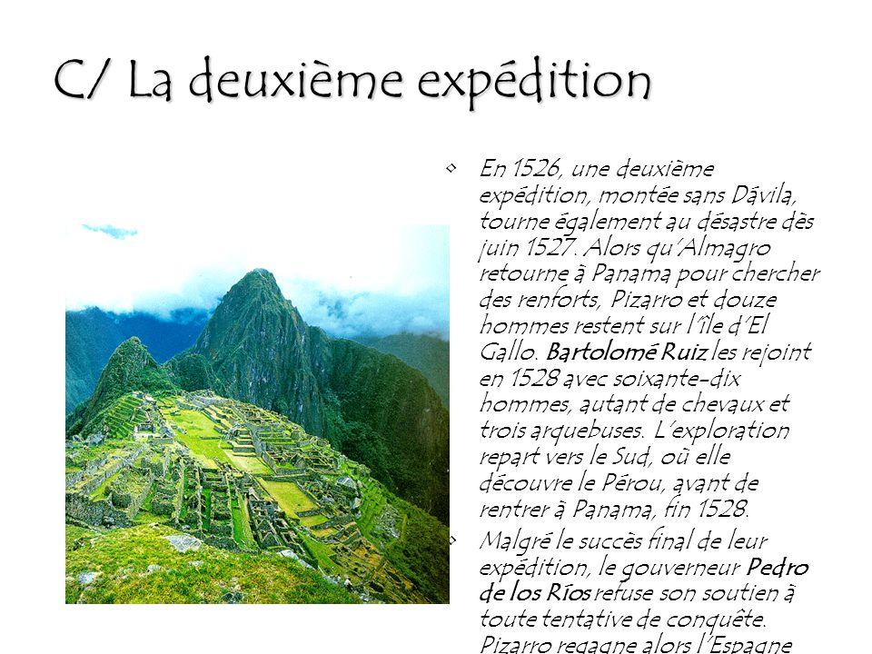 C/ La deuxième expédition