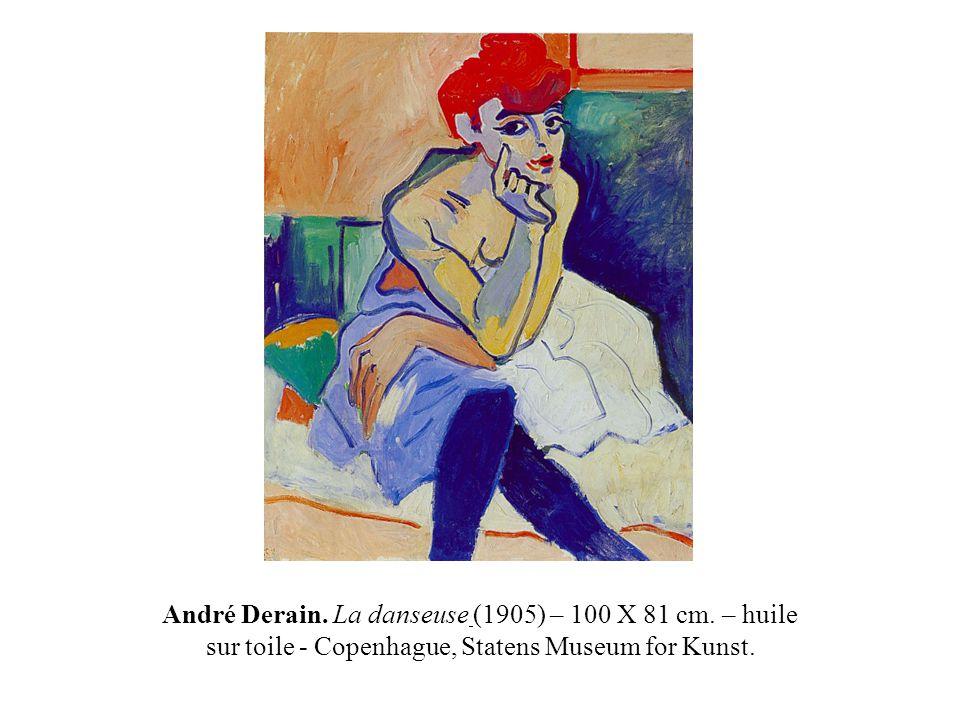 André Derain. La danseuse (1905) – 100 X 81 cm