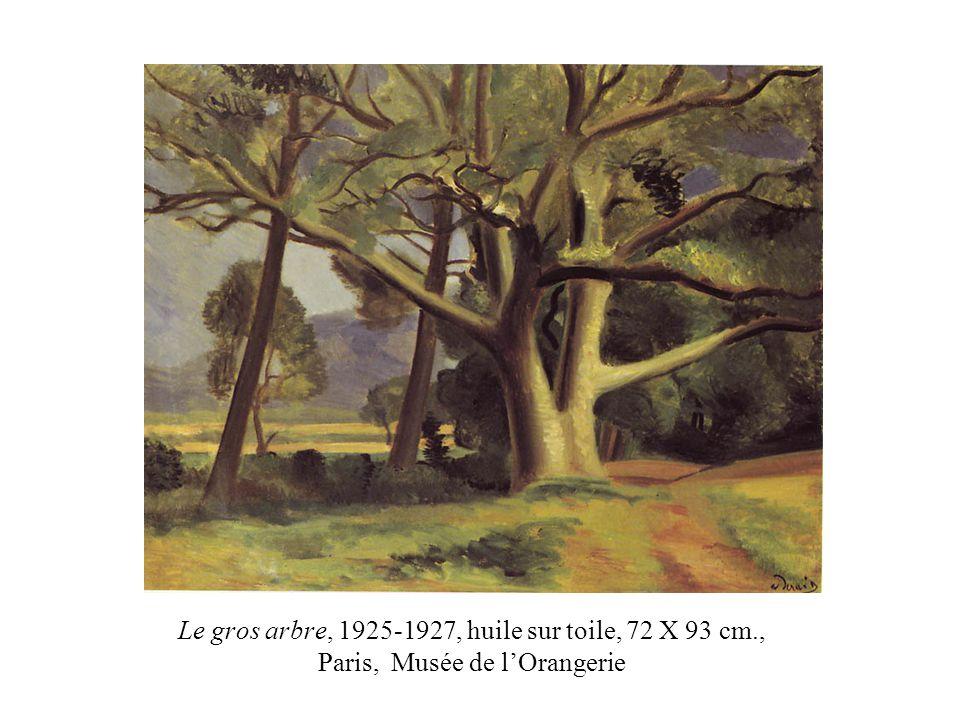 Le gros arbre, 1925-1927, huile sur toile, 72 X 93 cm