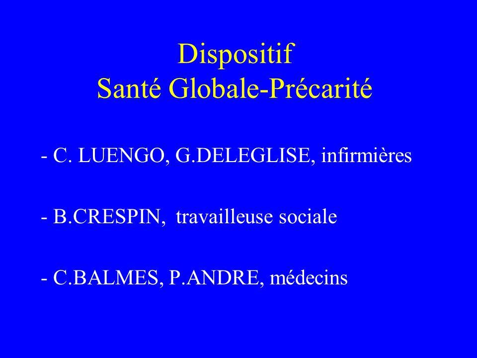 Dispositif Santé Globale-Précarité
