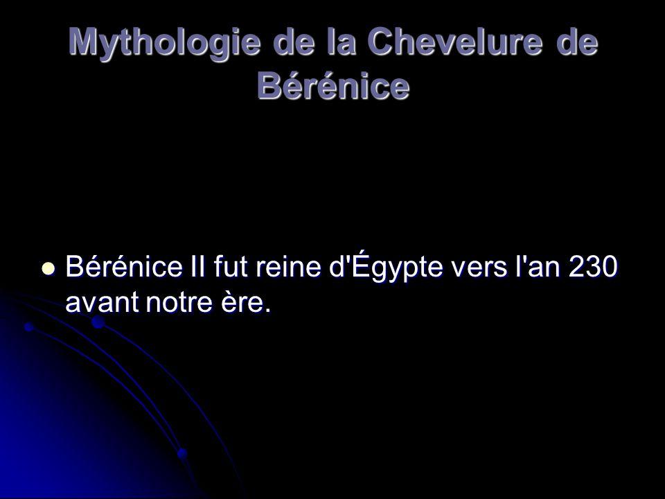 Mythologie de la Chevelure de Bérénice