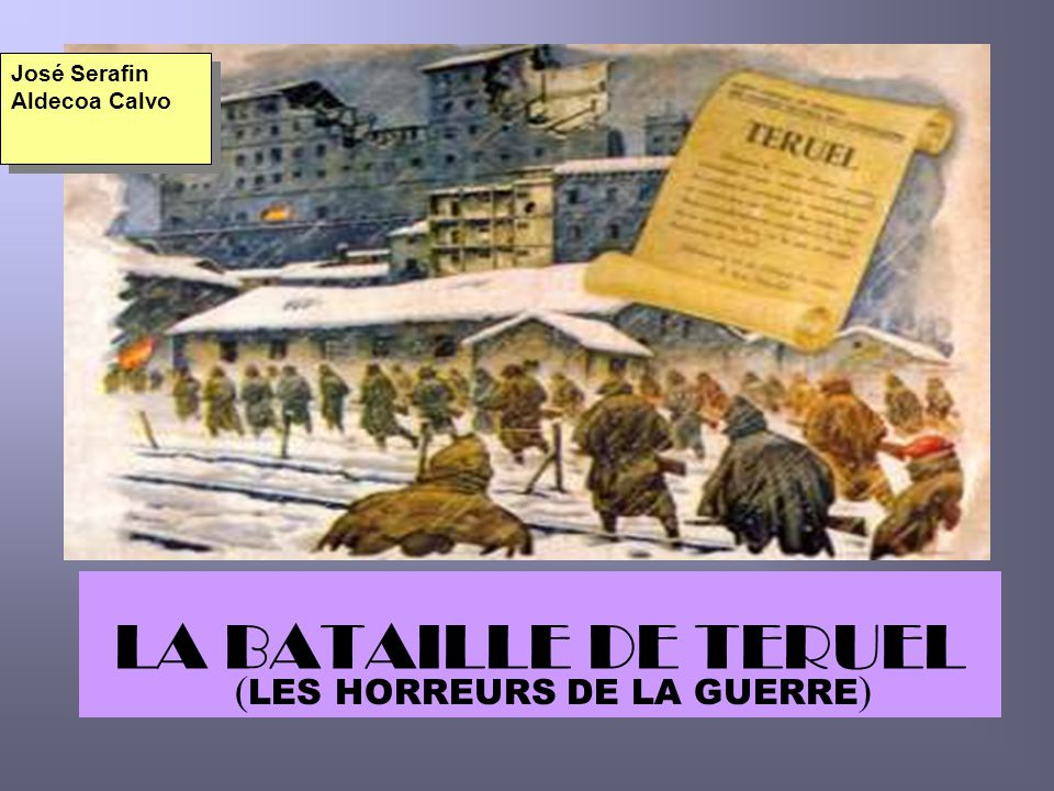 (LES HORREURS DE LA GUERRE)