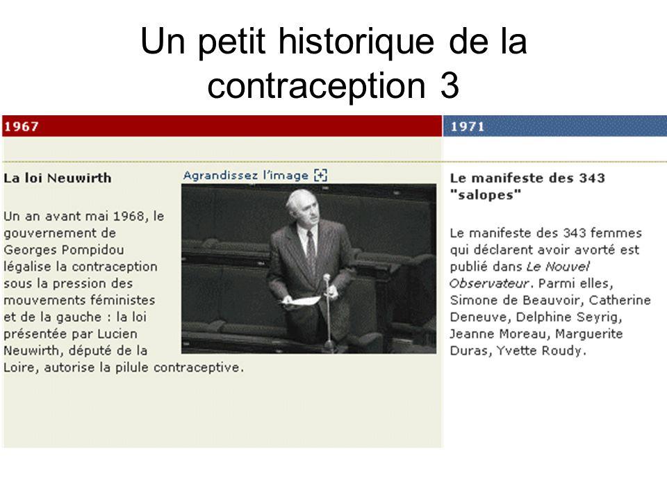 Un petit historique de la contraception 3