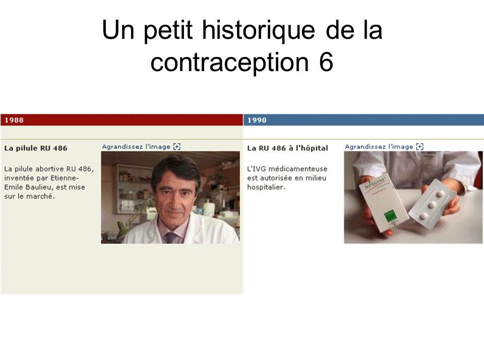 Un petit historique de la contraception 6