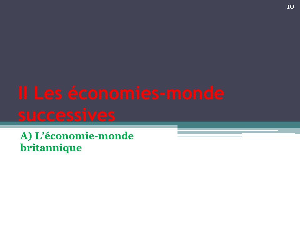 II Les économies-monde successives