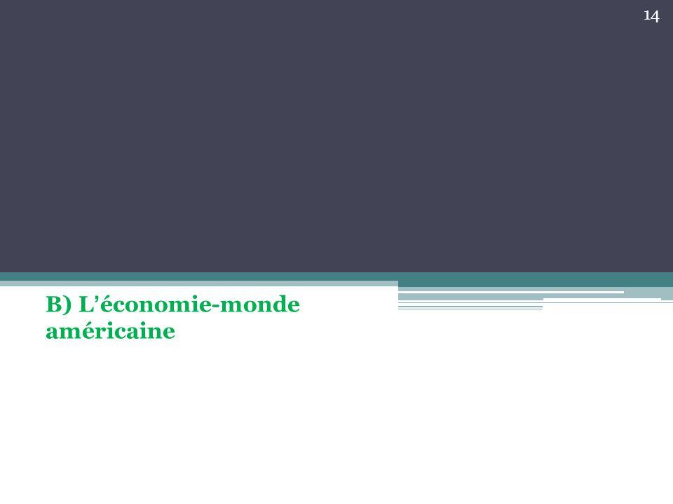B) L'économie-monde américaine