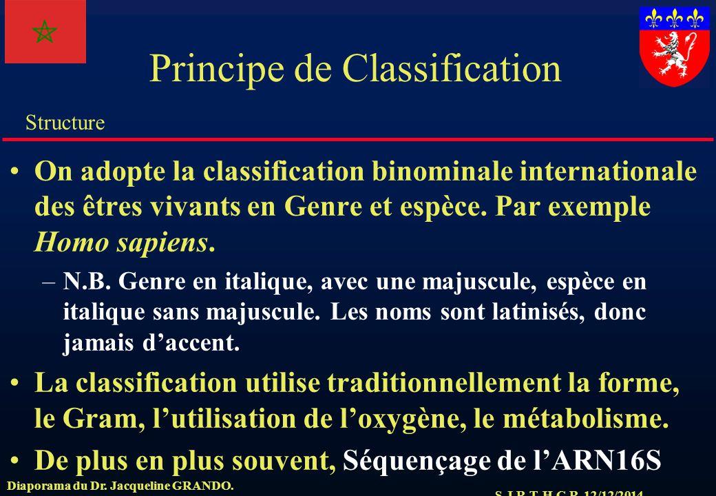 Principe de Classification