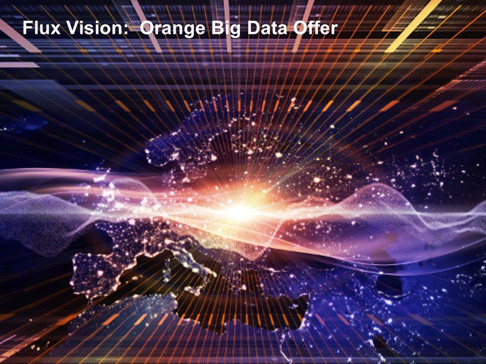Flux Vision: Orange Big Data Offer