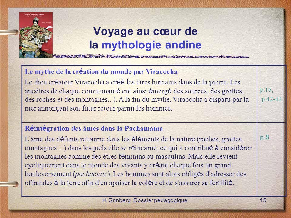 Voyage au cœur de la mythologie andine