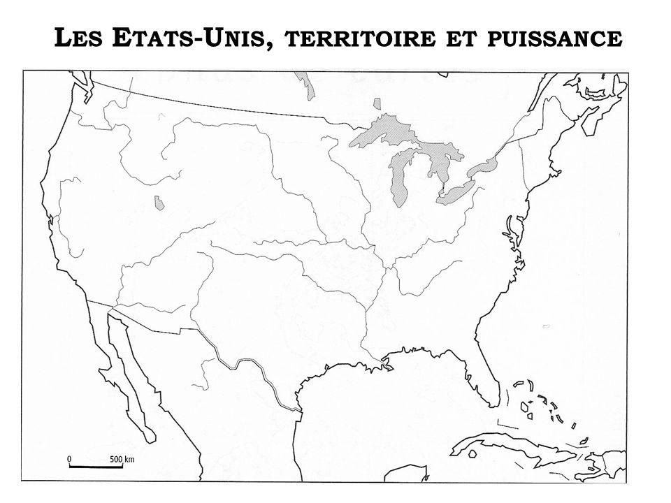 Les Etats-Unis, territoire et puissance