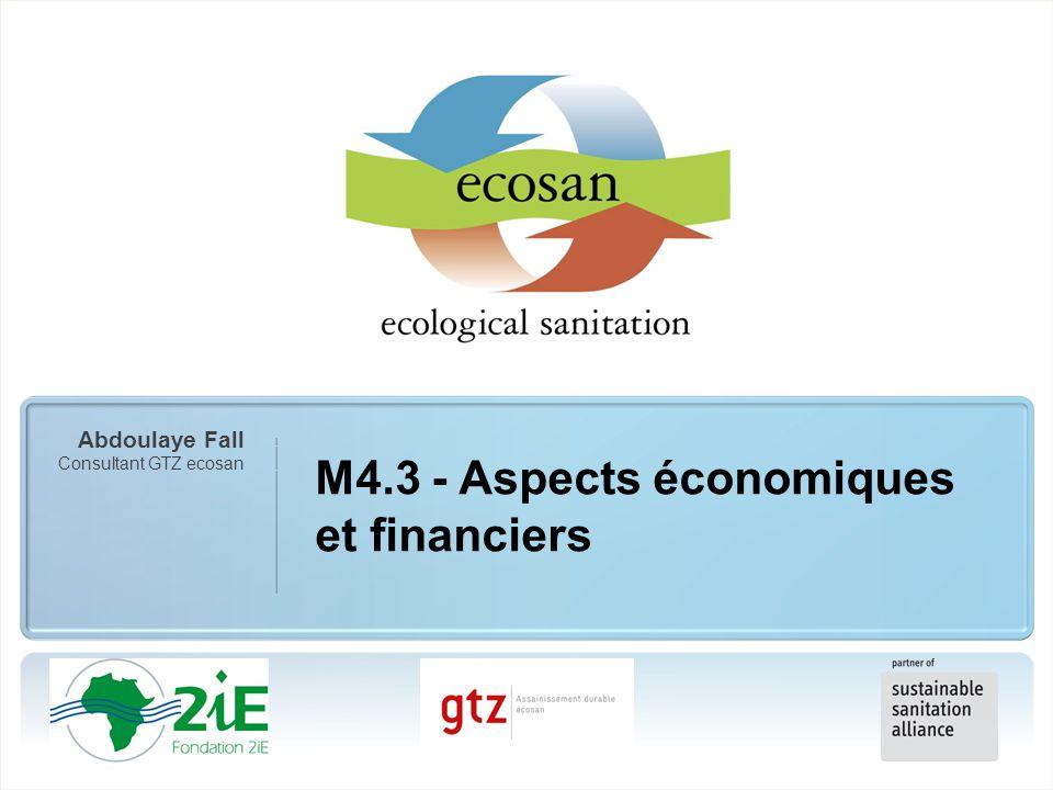 M4.3 - Aspects économiques et financiers