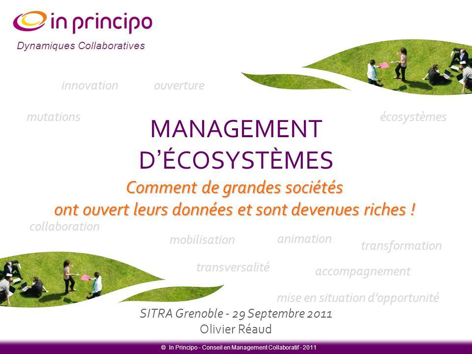 MANAGEMENT D'ÉCOSYSTÈMES