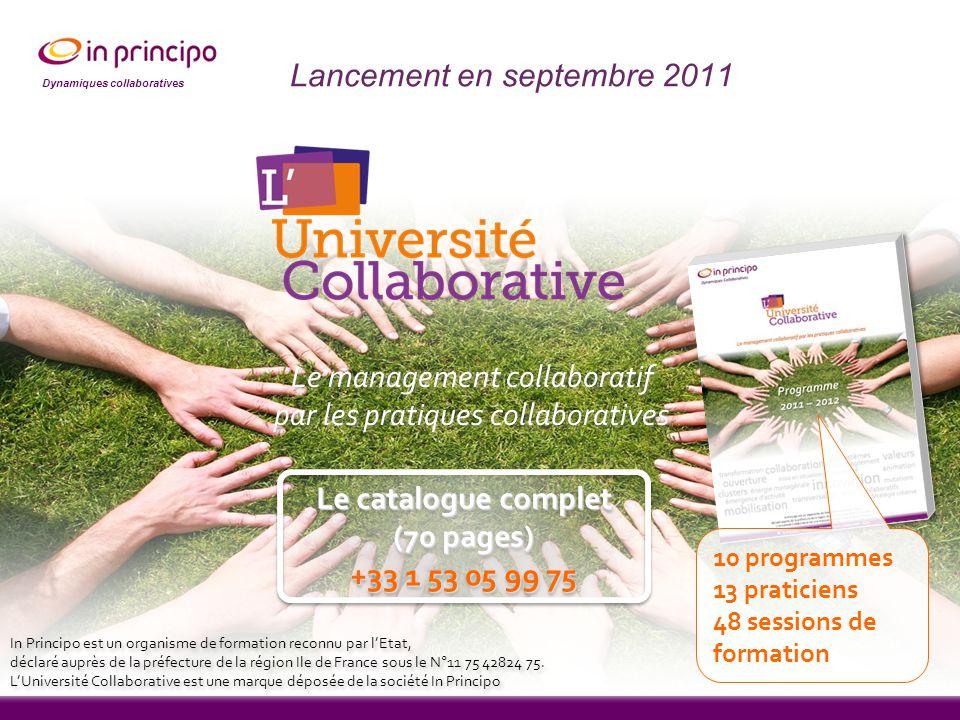 Lancement en septembre 2011