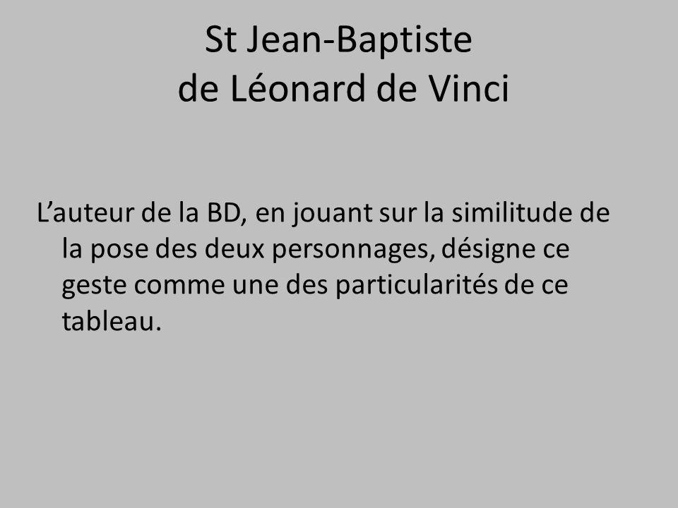 St Jean-Baptiste de Léonard de Vinci
