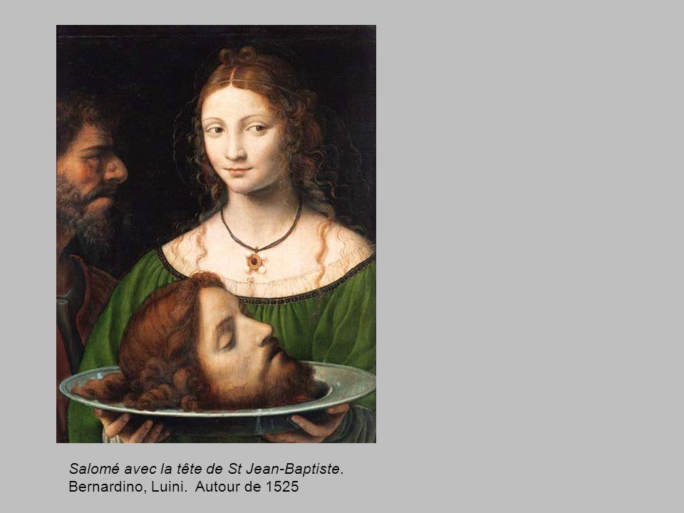 Salomé avec la tête de St Jean-Baptiste.